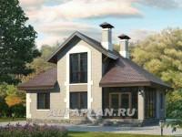 Дом с панорамным окном