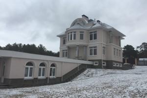 Построенный двухэтажный дом-3