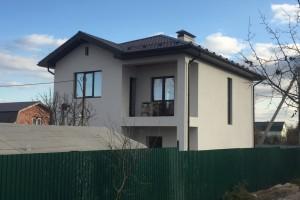 Построенный двухэтажный дом-4