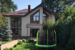 Построенный двухэтажный дом-2
