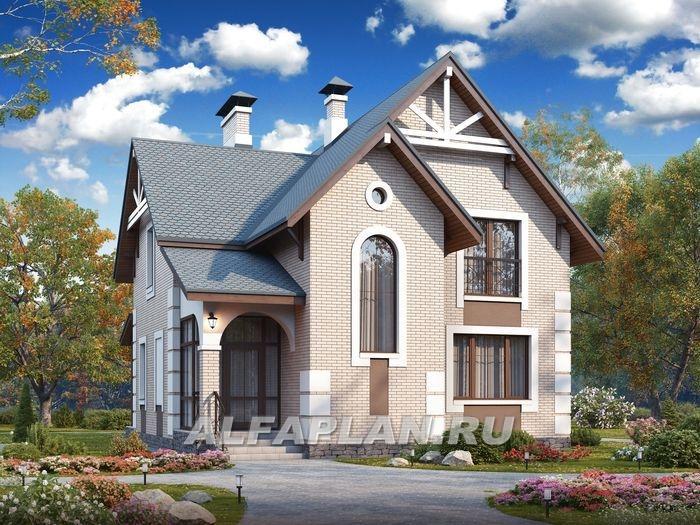 Кирпичные дома проекты фото